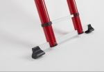 Stabiliser means you are always sturdy and stable on the telescopic ladder.