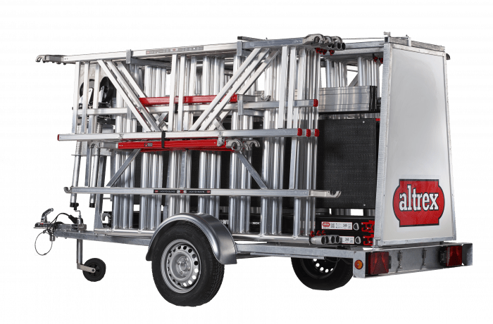 Scaffold Trailer De Luxe