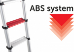 ABS technologie telescopische ladder