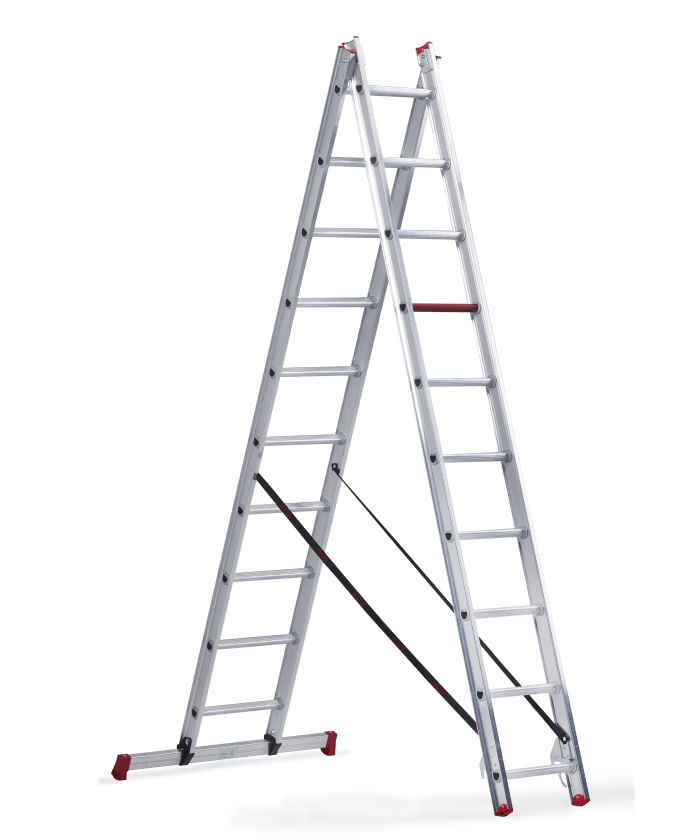 All round reformladder  2x10 sporten ladder