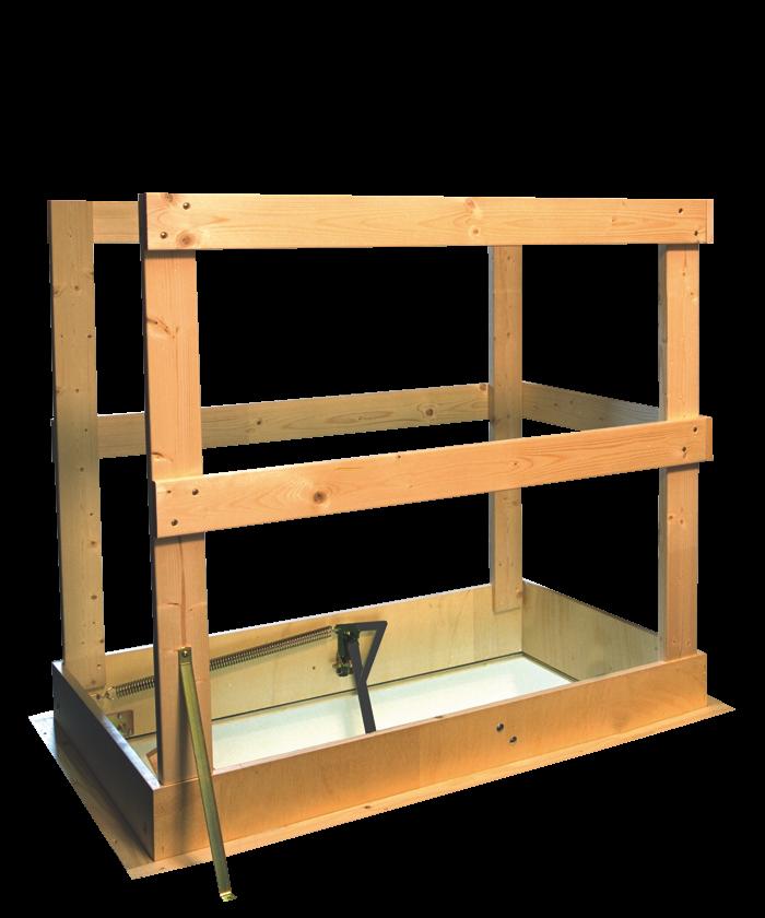 Traphek vlizotrap nog veiliger gebruik van een zoldertrap for Vlizotrap monteren