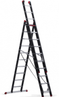 Mounter combination ladder 3x10 steps