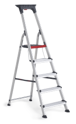 Double Decker household stepladder 5 treads