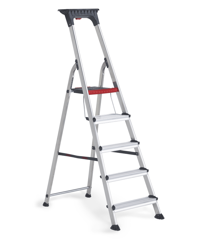 Double Decker household stepladder 5 steps