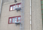 From 10 metres high, a rest platform is required every 6 metres.