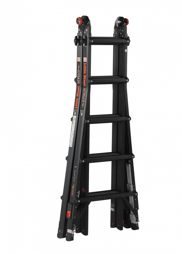 Escalera plegable Black Pro Leveler