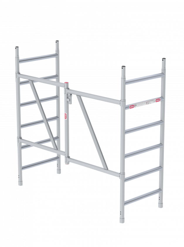 Folding tower frames