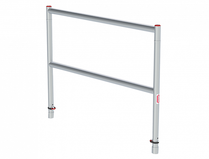 Guardrail frame
