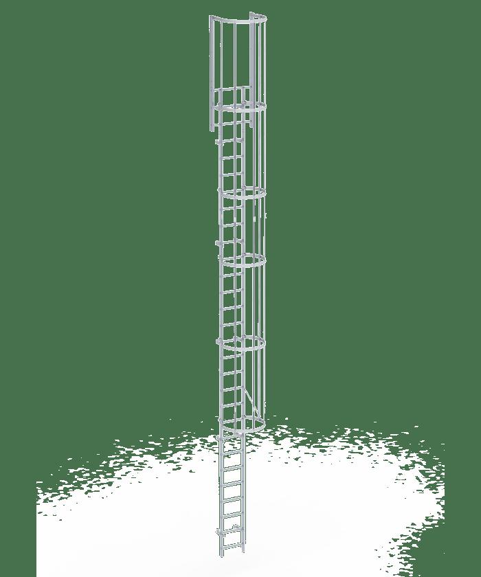 Escalera con caja olympus acceso seguro al tejado for Escaleras infinitas