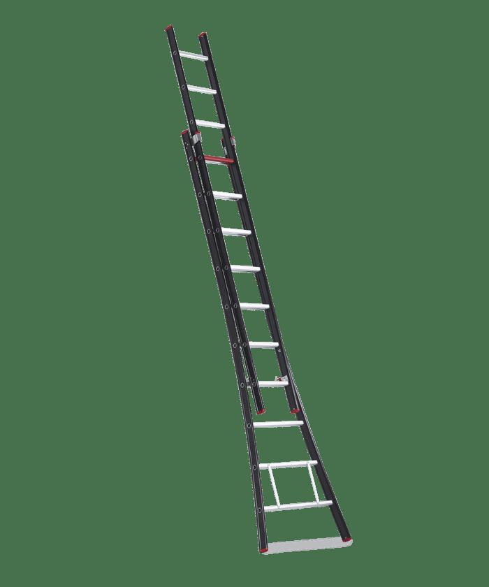 Escalera extensible nevada altrex trabajo seguro en las for Escaleras profesionales