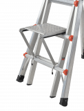 Ladder shelf Velocity, Leveler & Black Pro Leveler