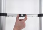 TL Smart Up Active   Eenvoudig te bedienen telescopische ladder