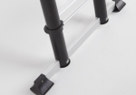Stabiliteitsbalk en antislip voeten telescopische ladder TL Smart Up Pro