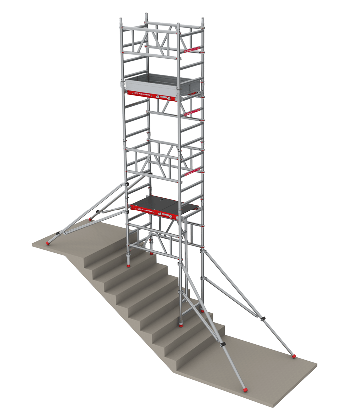 The Mitower Stairs Rolling Scaffolding Altrex