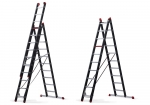 The Mounter combination ladder is available in 2- and 3-part version