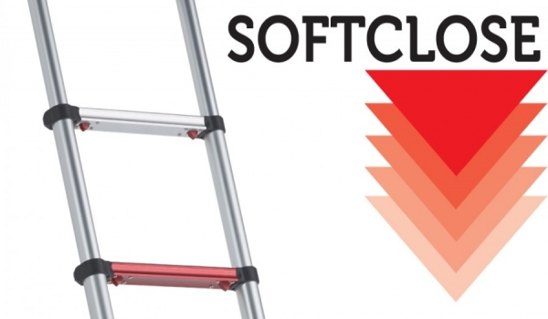 Nueva serie de escaleras telescópicas soft close
