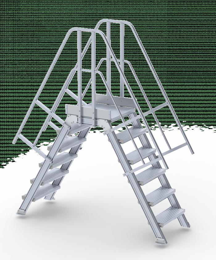 Altrex overstapbordes modulair systeem - Trap voor daken ...