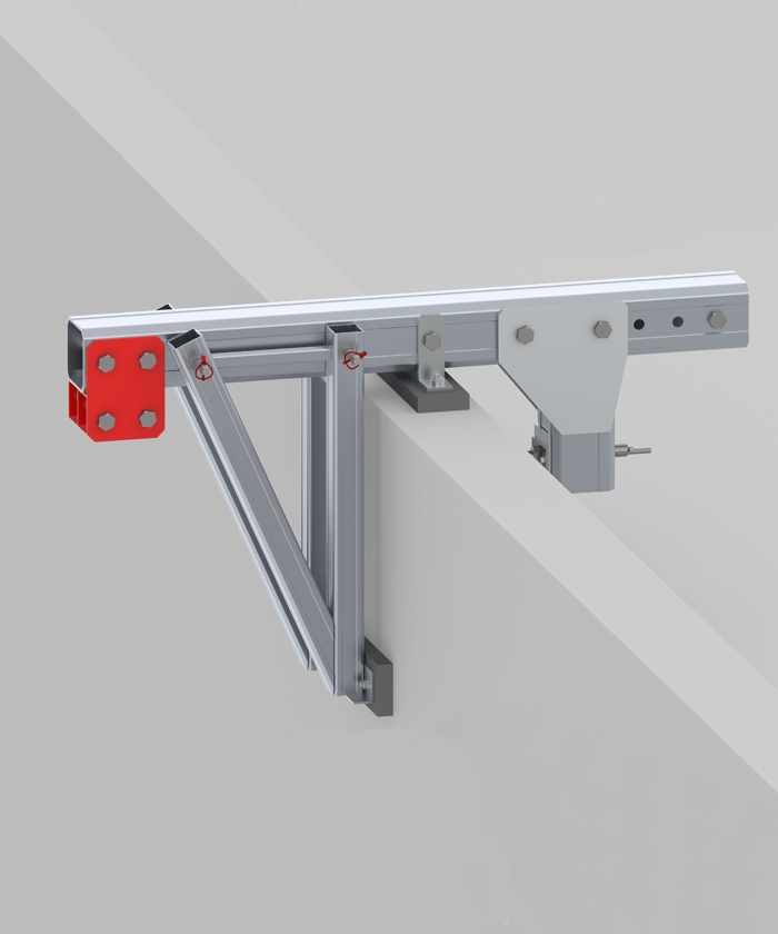 Parapet clamp for suspended platforms
