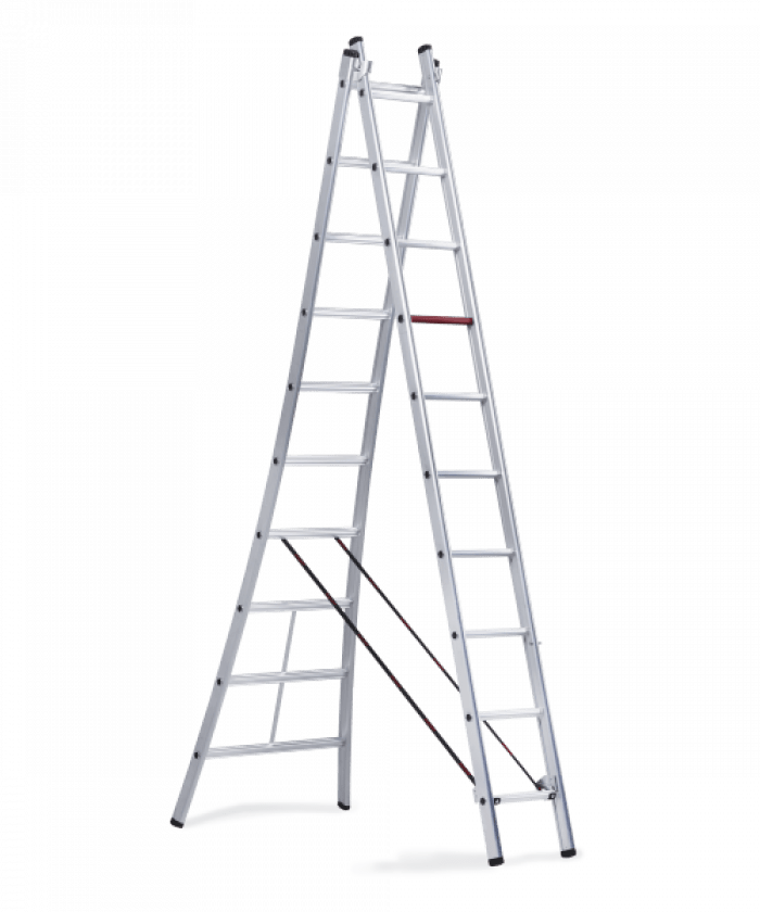 Rocky combination ladder 2 part version