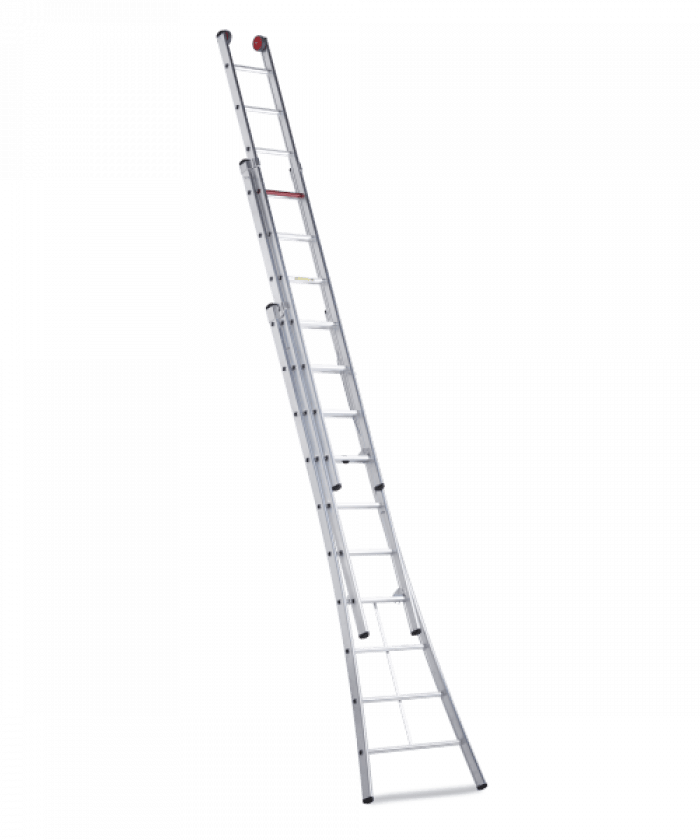 Rocky combination ladder 3 part version
