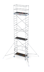 RS TOWER 34. Collapsible folding-/rolling tower for the hard working handyman or professional