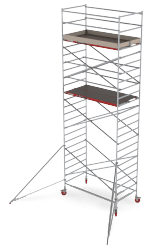RS TOWER 42 Double width rolling tower For any professional task