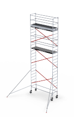 RS TOWER 51 Single width rolling tower. System of infinite possibilities