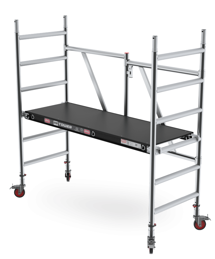 RS TOWER 54 Folding tower Compact rolling tower with extension options