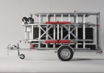 Transport your scaffolding safely with the Scaffold trailer De Luxe