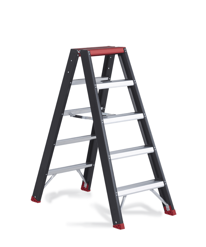 Taurus (TDO) - double sided Robust stepladder for building and industry