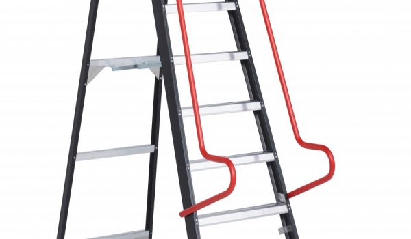 The Taurus is also available as a single-sided warehouse ladder.