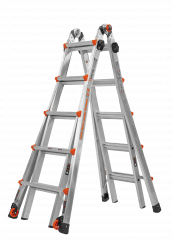 Velocity. Telescopic folding ladder for the professional