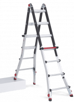 Varitrex Teleprof Flex 4 x 4. Telescopic folding ladder for the professional