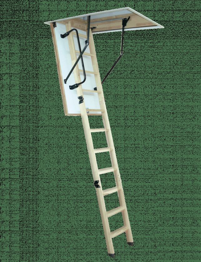 La Woodytrex De Luxe: la escalera de altillo más completa | Altrex
