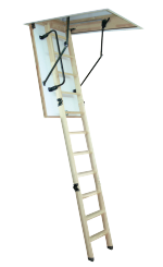 Woodytrex De Luxe. The most complete loft ladder