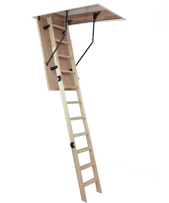 Woodytrex-Budget. Easy to fit loft ladder
