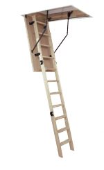 Woodytrex Budget. Easy to fit loft ladder