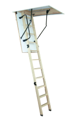 Woodytrex Superieur. A luxuriously finished loft ladder