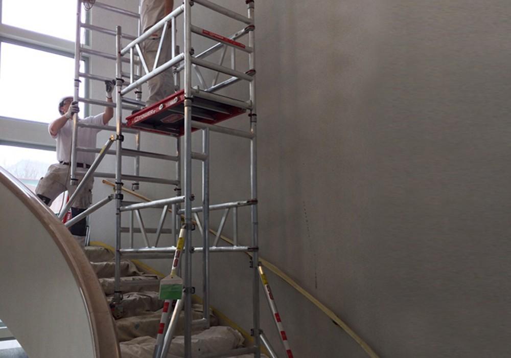 La mitower stairs chafaudage roulant mitower - Location echafaudage escalier ...