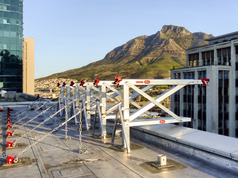 Cape Access Equipment roofbeams