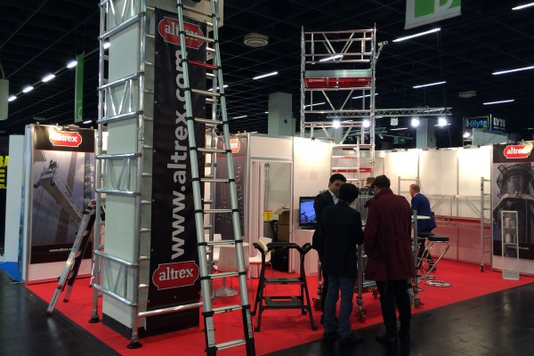 This year Altrex will again be participating on the international Hardware Fair in Cologne