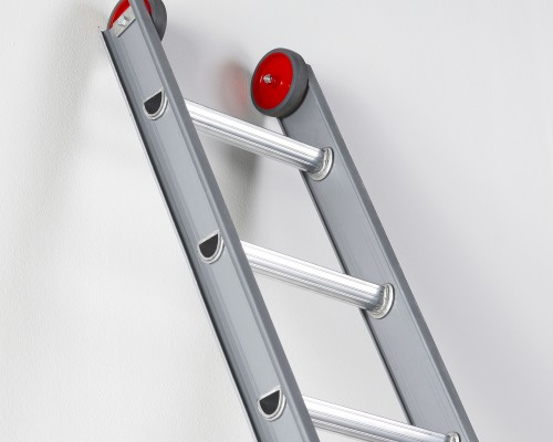 The I-profile makes this ladder the lightest in its field.