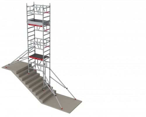 How do you build a MiTOWER STAIRS on a staircase?