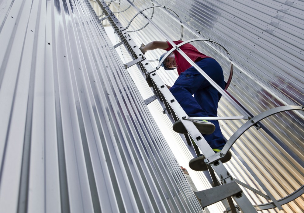 The Olympus Hoop Ladder System Safe Roof Access