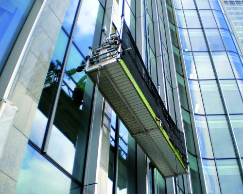 For suspended platforms and Rope Access