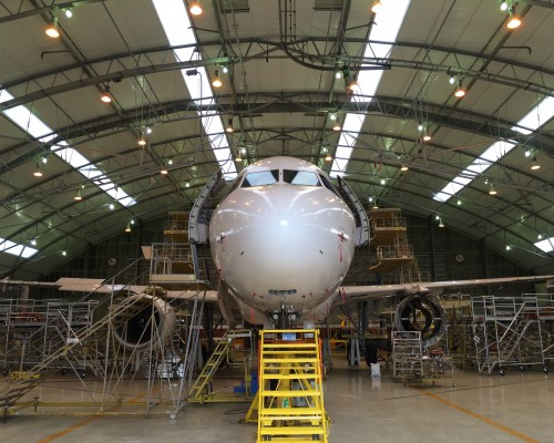 Maintenance platforms for Airbus A320