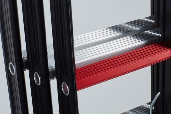 The Red Step® on your ladder/steps indicates the height at which you can safely work