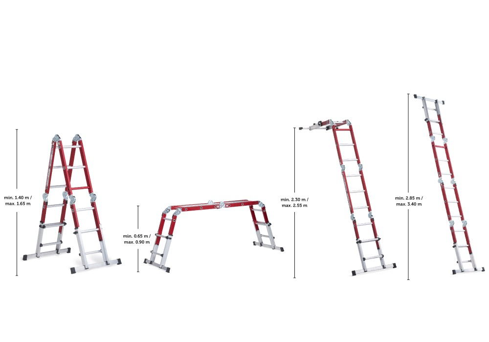 altrex varitrex do it all telescopic folding ladder. Black Bedroom Furniture Sets. Home Design Ideas