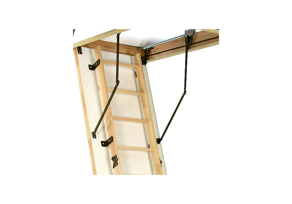 De woodytrex superieur een luxe uitgevoerde vlizotrap for Vlizotrap plaatsen
